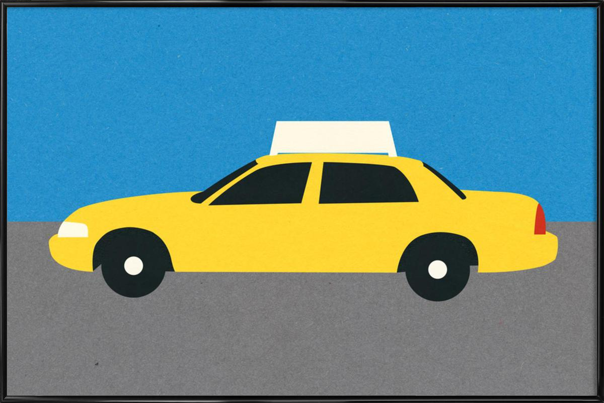 New York TAXI Framed Poster