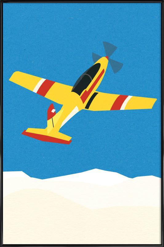 Pilatus PC-7 Solo Display ingelijste poster