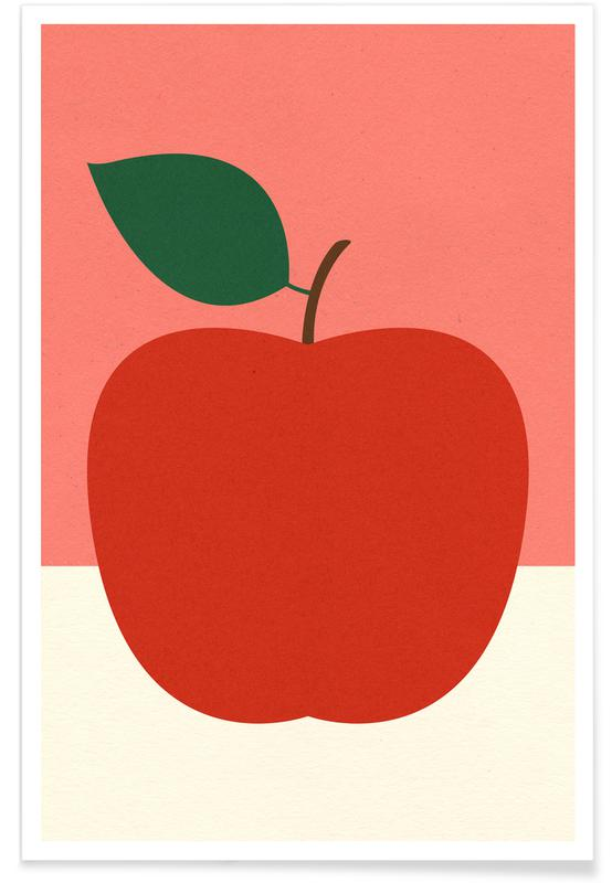 Red Apple -Poster