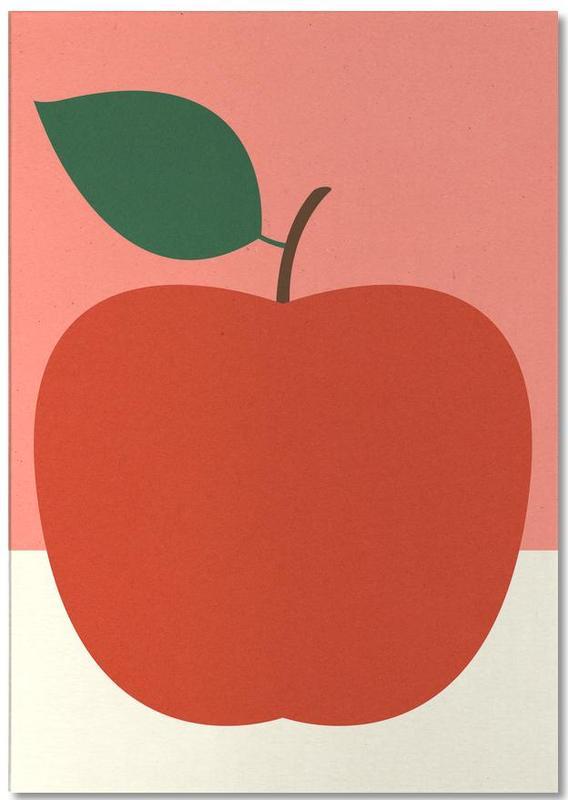 Red Apple -Notizblock