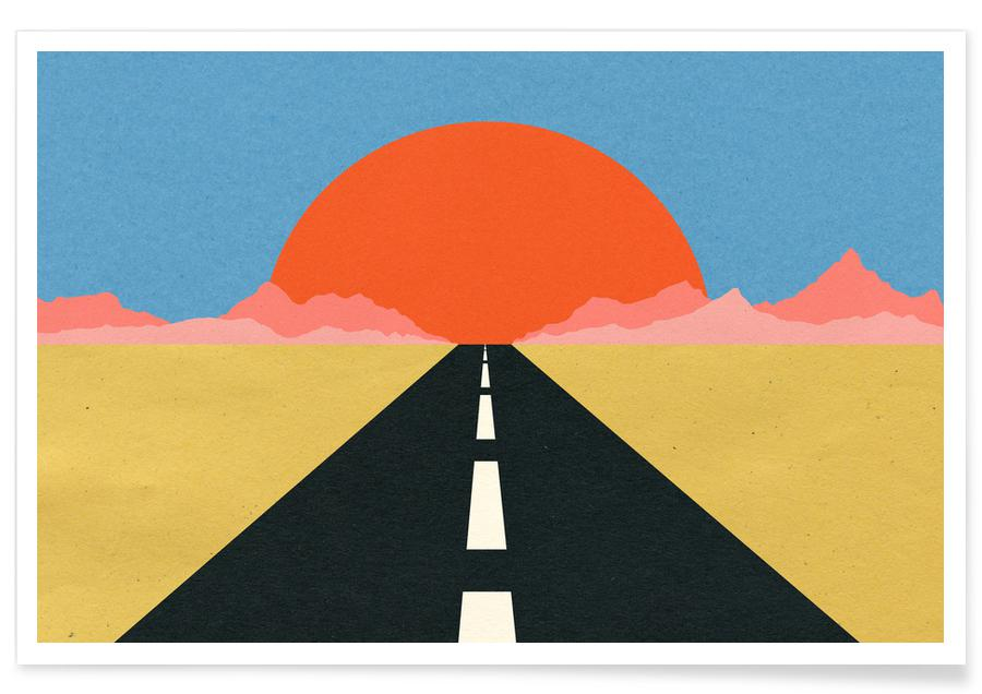 Road to Sun -Poster