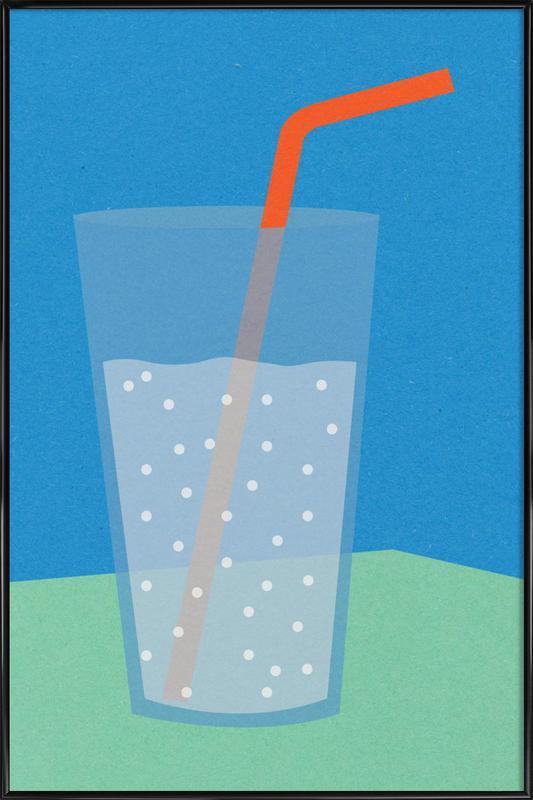 Sparkling Lemonade Framed Poster