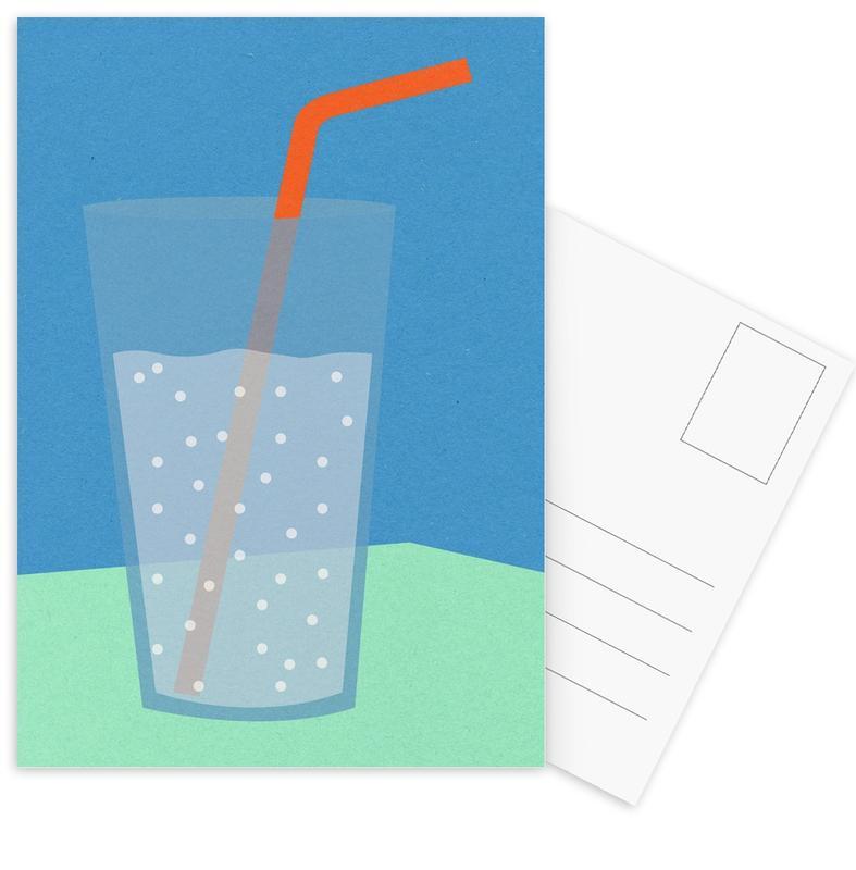 Sparkling Lemonade -Postkartenset