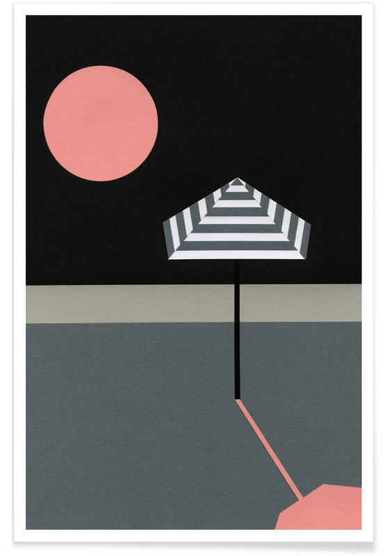 Abstract Landscapes, The End of Summer Poster