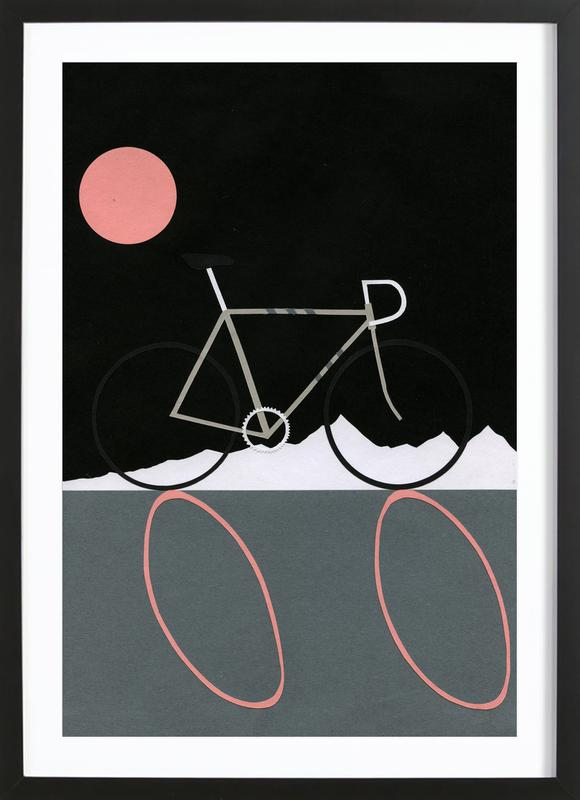 Tour de Noir Framed Print