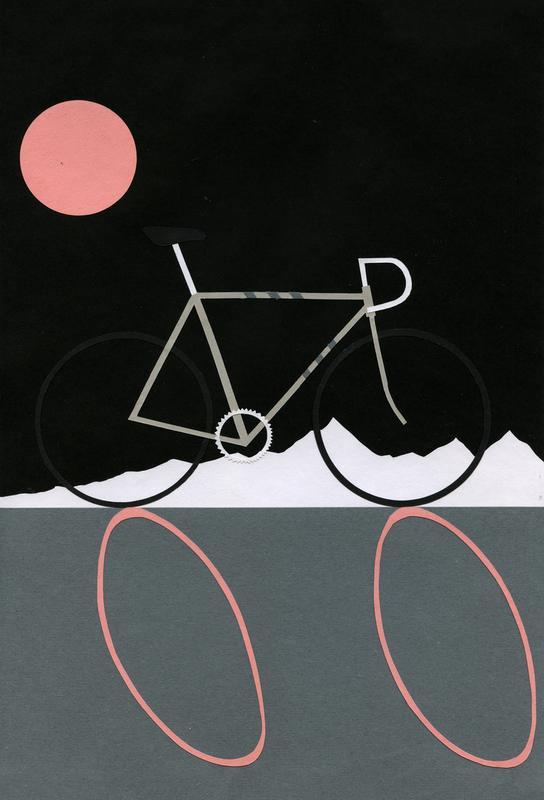Tour de Noir Acrylic Print