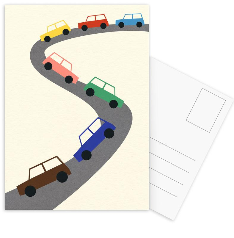 Traffic -Postkartenset
