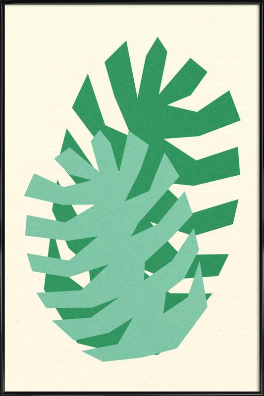 Two Palm Leaves ingelijste poster