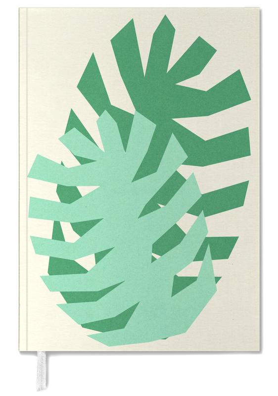 Two Palm Leaves Personal Planner