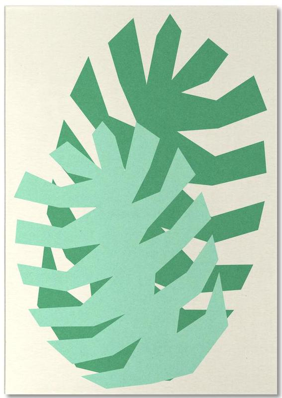 Two Palm Leaves Notepad