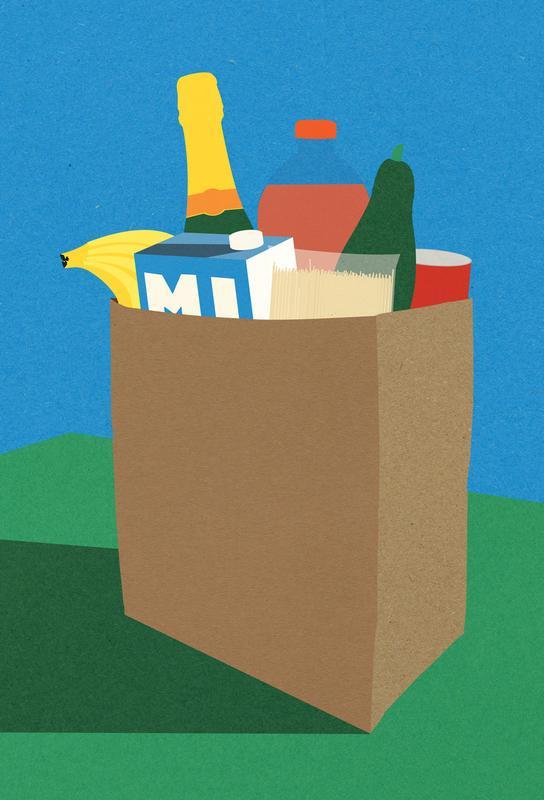 Weekly Grocery Haul -Acrylglasbild