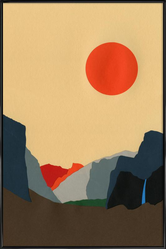 Yosemite Valley Framed Poster