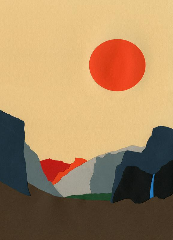 Yosemite Valley canvas doek