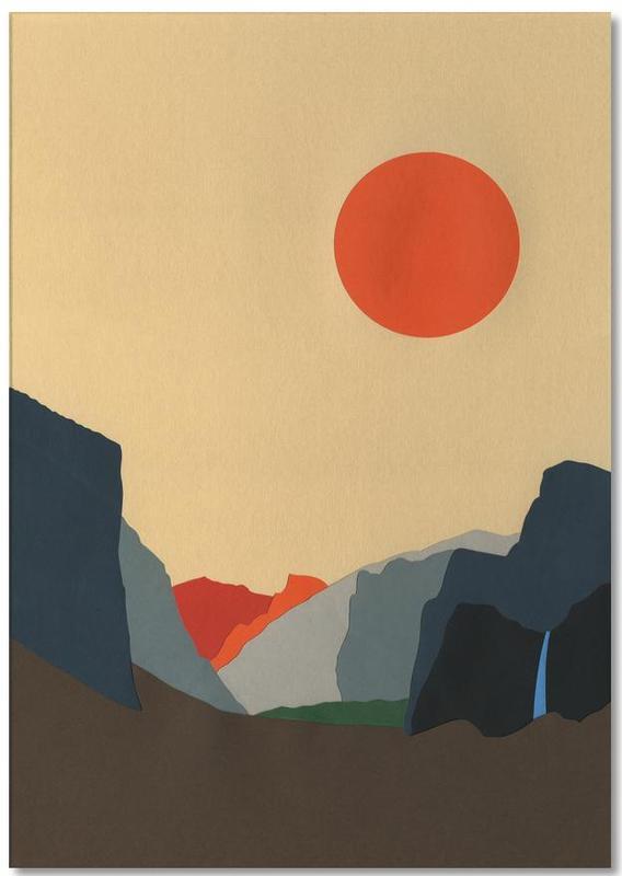 Yosemite Valley Notepad