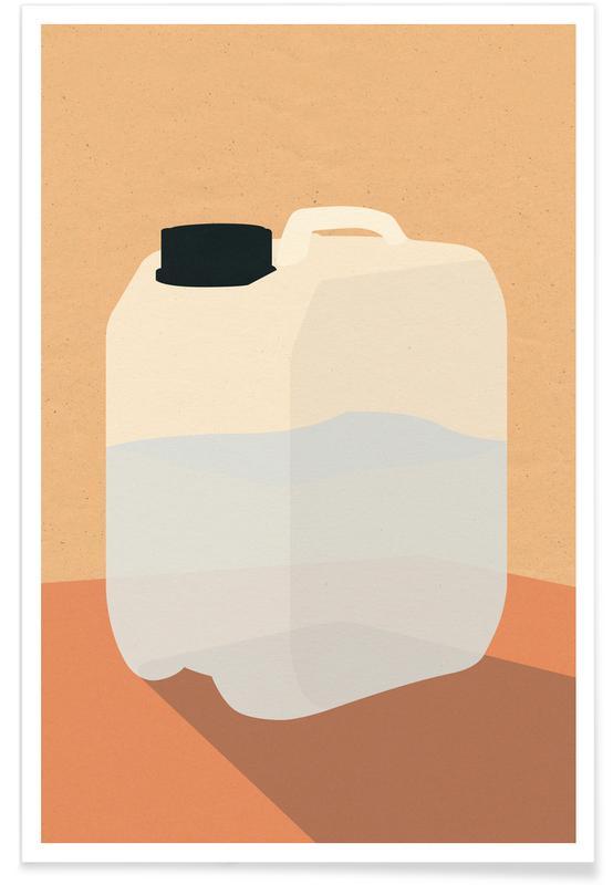 , Plastikkanister -Poster