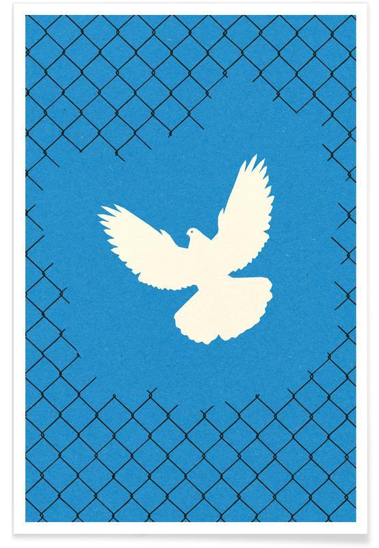 Doves, Free As A Bird Poster