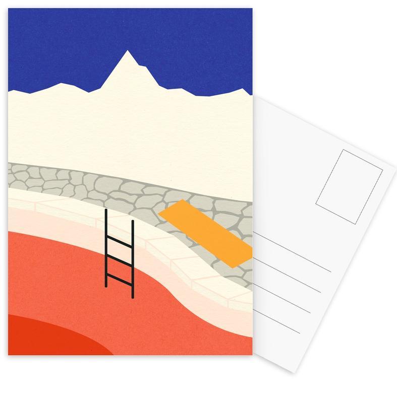Mountain Yoga Retreat Postcard Set