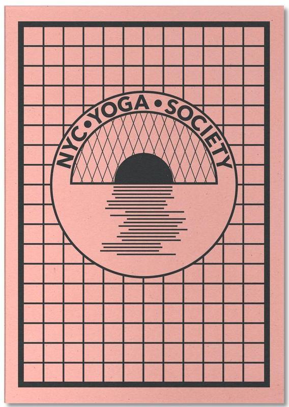Nyc Yoga Society Notepad