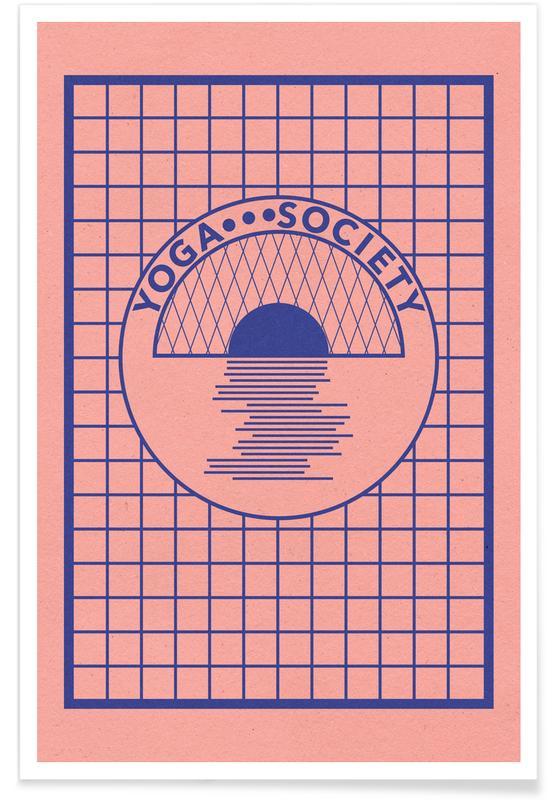 Yoga, Vintage, Yoga Society Poster