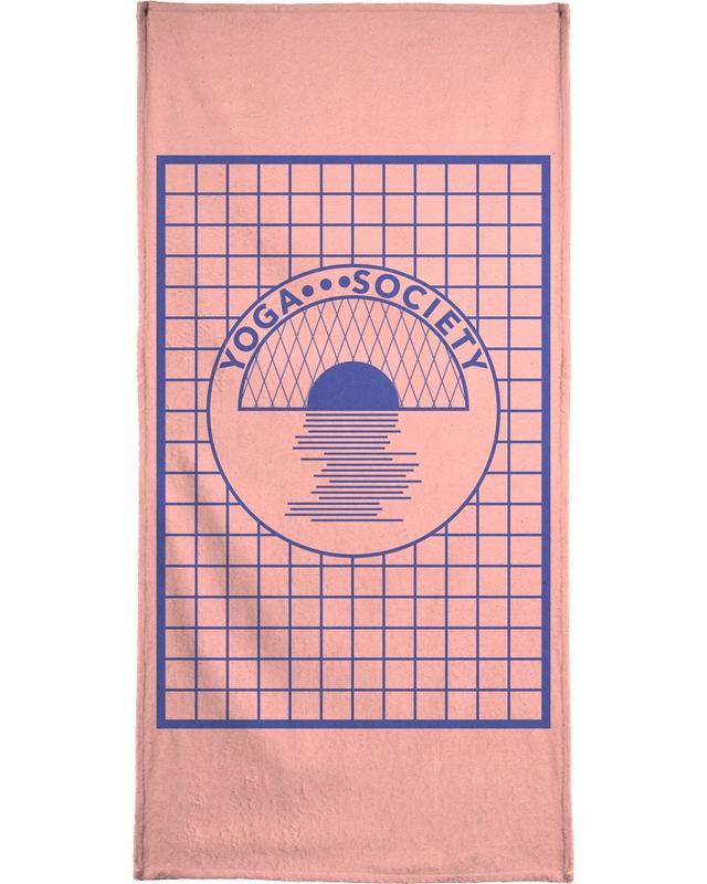 Yoga Society Bath Towel