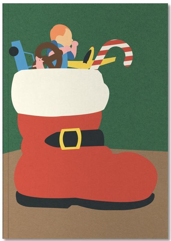 Kerst, Kunst voor kinderen, Nikolaus Boot Notebook