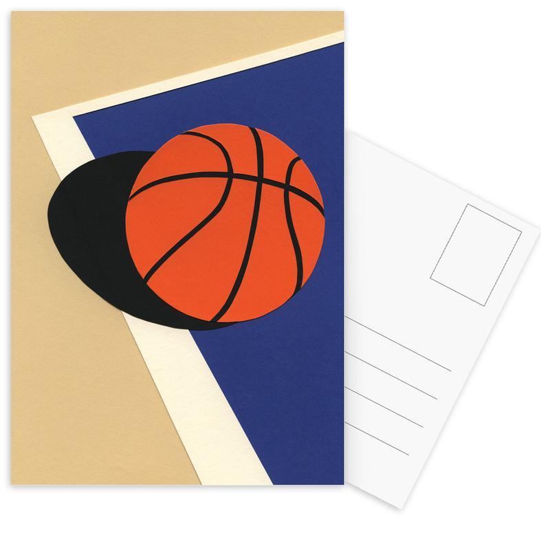 Basketbal, Kunst voor kinderen, Oakland Basketball Team ansichtkaartenset