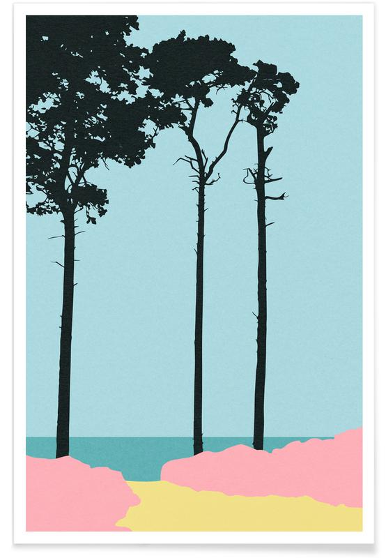 Trees, Weststrand Poster