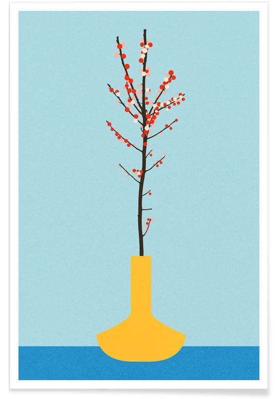 Beeren, Ilex Barn -Poster
