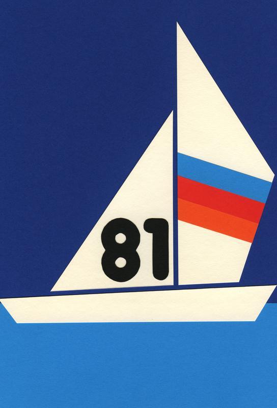 Sailing Regatta 81 alu dibond