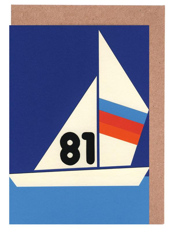 Sailing Regatta 81 Greeting Card Set