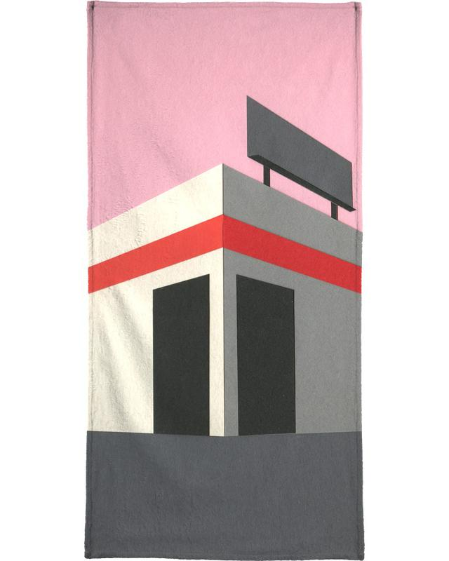 Sunset Warehouse -Handtuch