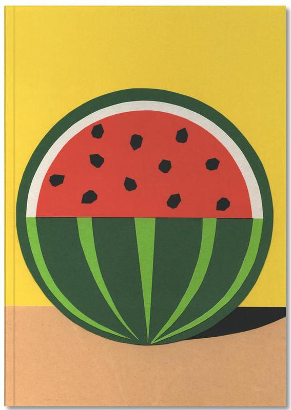 Three Quarter Melon Notebook