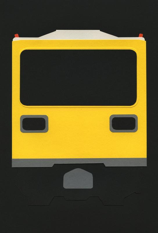 Berlin Subway Car GI E1 alu dibond