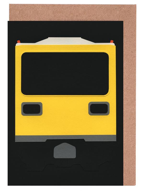 Berlin, Trains, Berlin Subway Car GI E1 Greeting Card Set