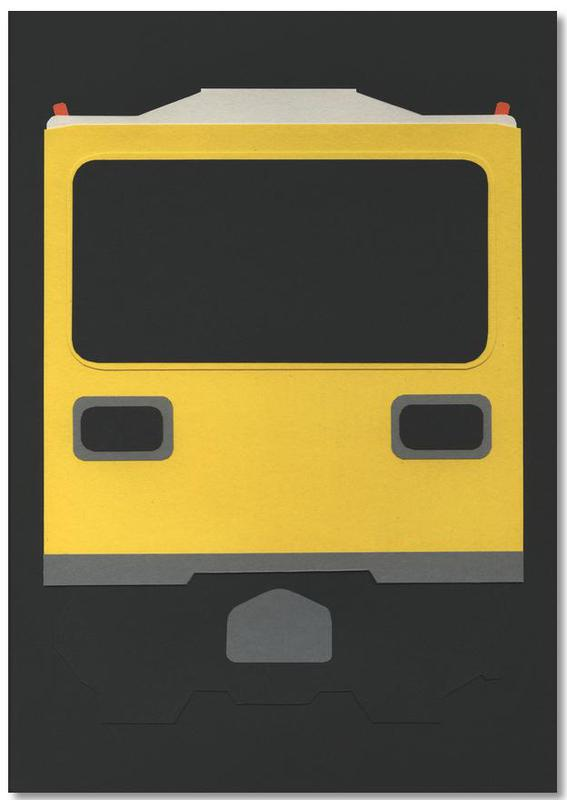 Berlin Subway Car GI E1 -Notizblock