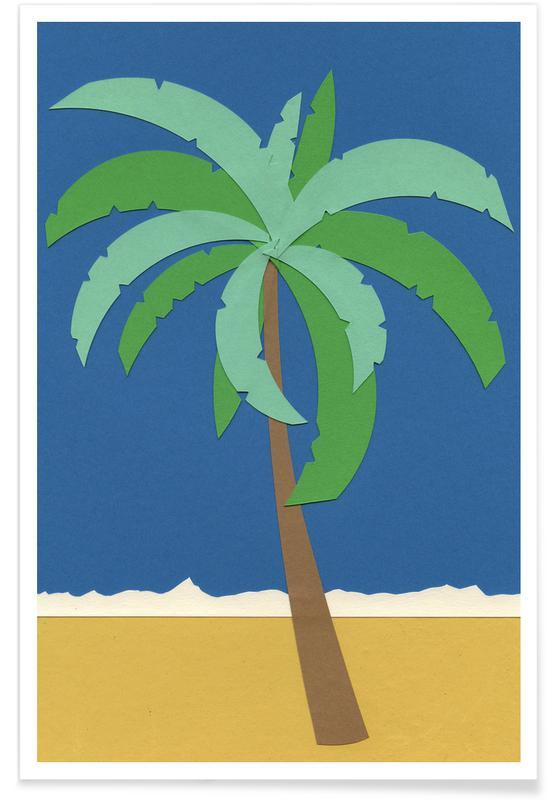 Palmen, Desert Palm -Poster