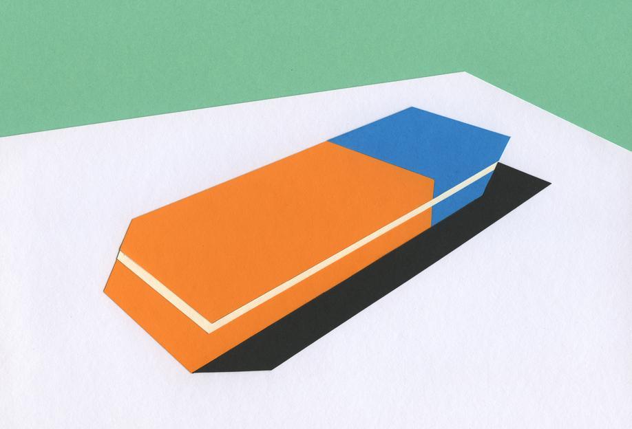 Eraser alu dibond