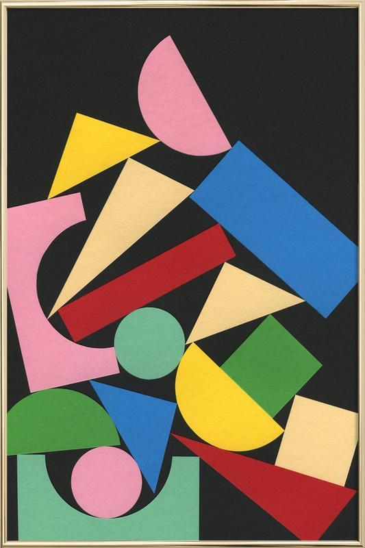 JAZZ -Poster im Alurahmen