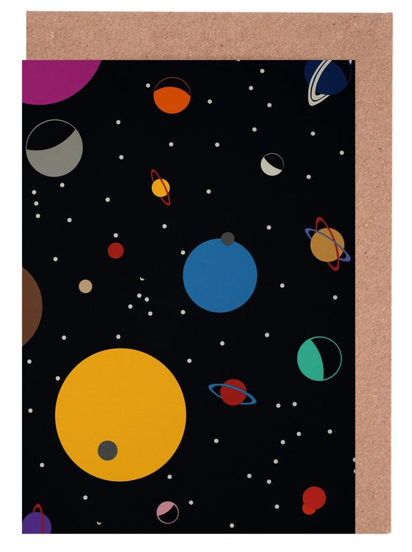 Outer Space Greeting Card Set