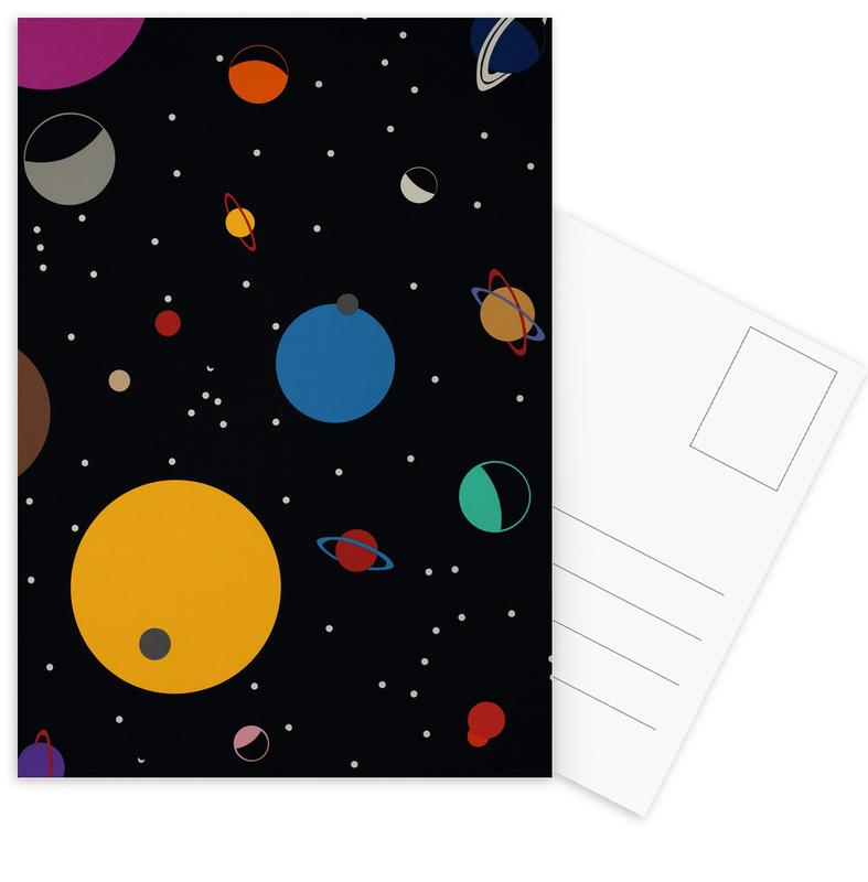Outer Space Postcard Set