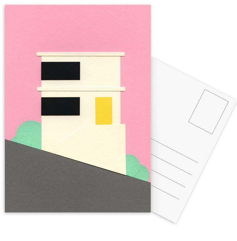 San Francisco, San Francisco Hill House Postcard Set