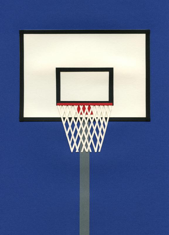 Oakland Basketball Team III -Leinwandbild
