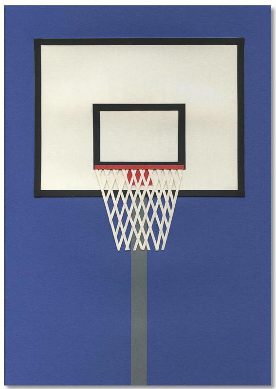 Oakland Basketball Team III Notepad