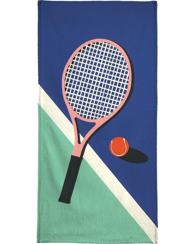Tennis, Malibu Tennis Club -Handtuch