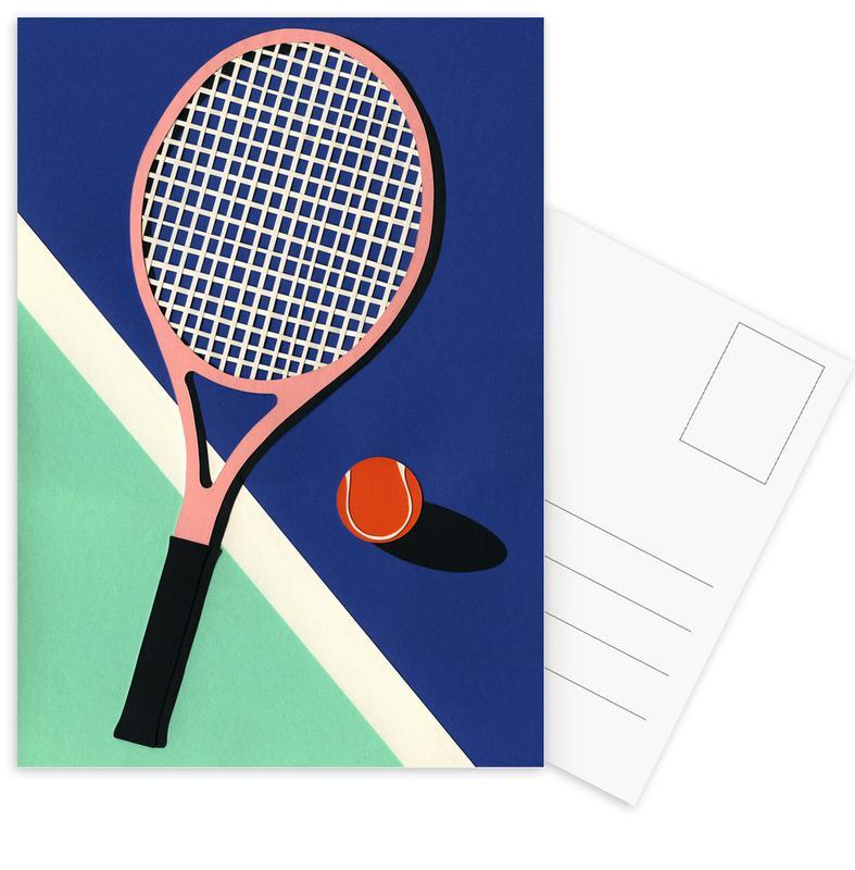 Tennis, Malibu Tennis Club cartes postales
