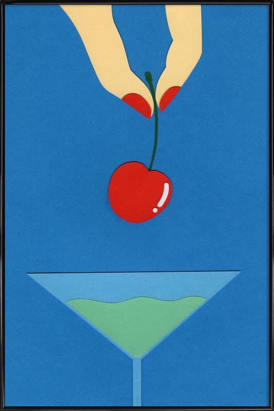 Cherry Nails ingelijste poster