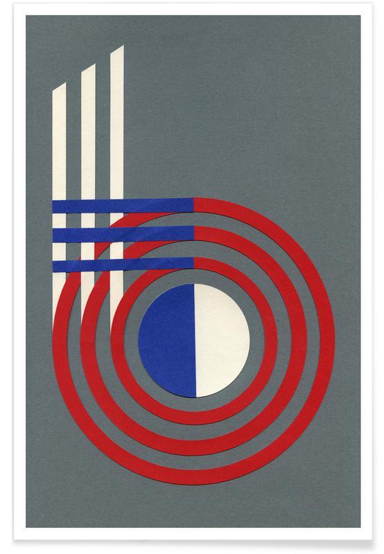 Numre, Form 6 Plakat