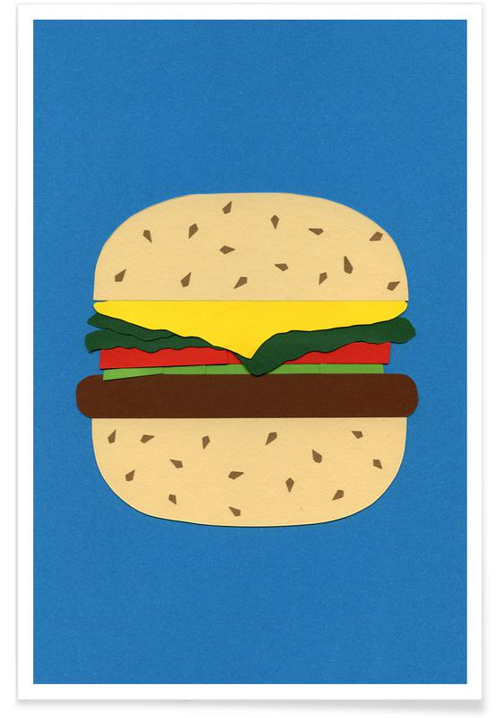 Burgers, Veggieburger Poster