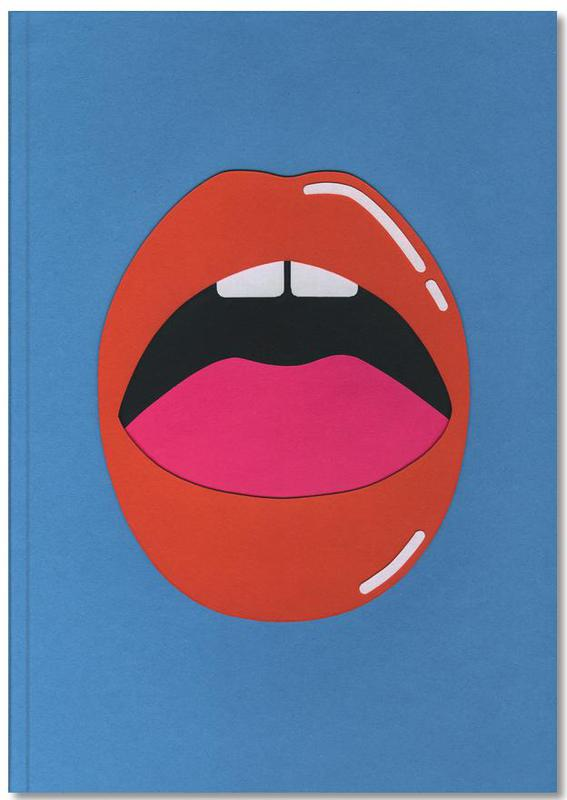 , Red Lips Notebook