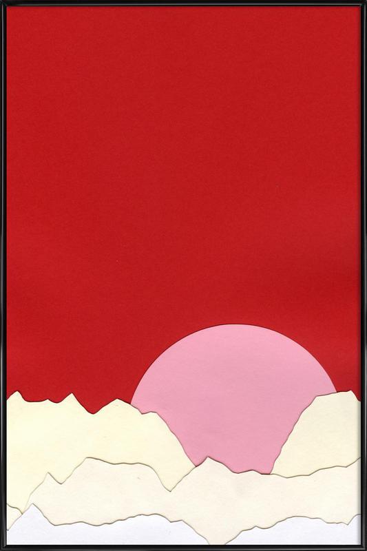 Sunset Styria ingelijste poster